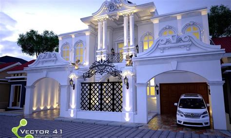 desain dapur mungil klasik desain rumah klasik modern arsitek medan v41