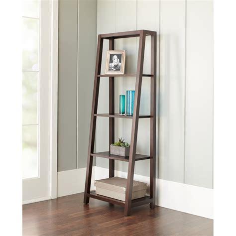 coaster 4 drawer ladder style bookcase trestle bookcase nicupatoi com