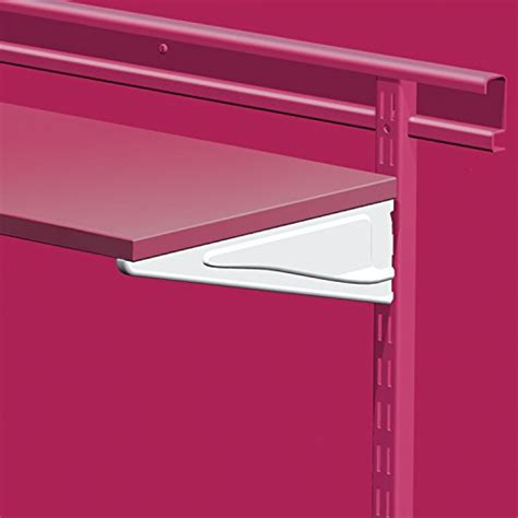 Closetmaid Single Shelf Closetmaid 3862 10 Inch Shelf Bracket For Laminate