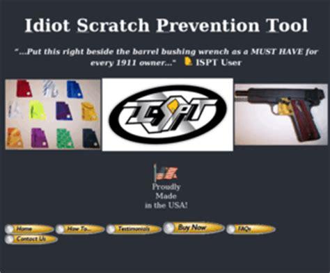 isptcom idiot scratch prevention tool official website