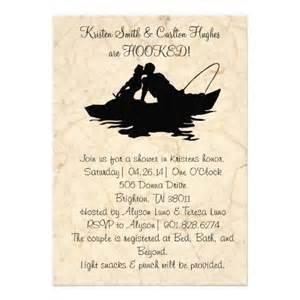 fishing wedding invitations vintage fishing boat wedding invitation
