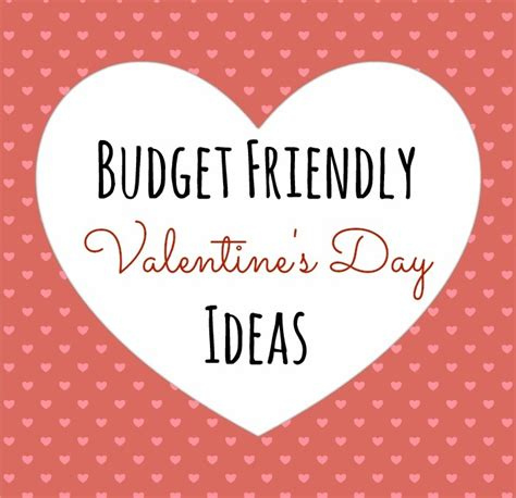 Valentines Day Ideas Budget Friendly Valentine S Day Ideas Peanut Butter Fingers