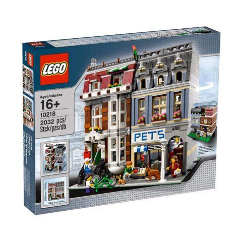 Diskon Lego 10218 Pet Shop lego creator expert pet shop 10218 163 133 00 hamleys for