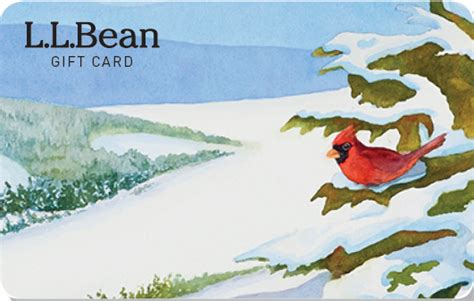 Ll Bean Gift Card Balance - l l bean gift cards and e gift cards delivered free by mail or email
