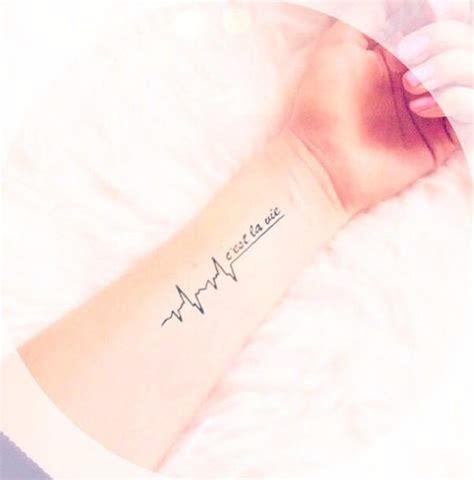 c est la vie wrist tattoo so c est la vie meaning c est la vie