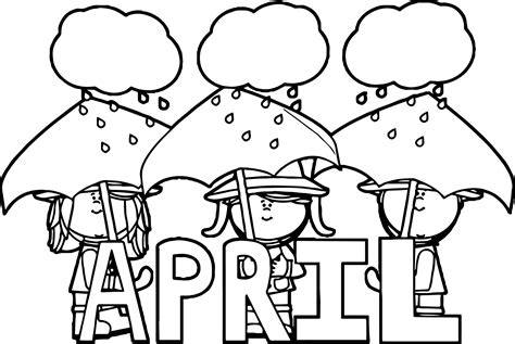 color for april sobriety april coloring page wecoloringpage