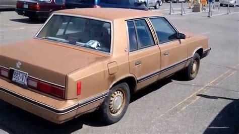 1982 dodge aries k car