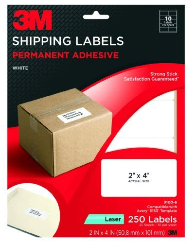 3m label templates 3m products 3m permanent adhesive clear mailing labels for laser printers 1 x 2 5 8 750