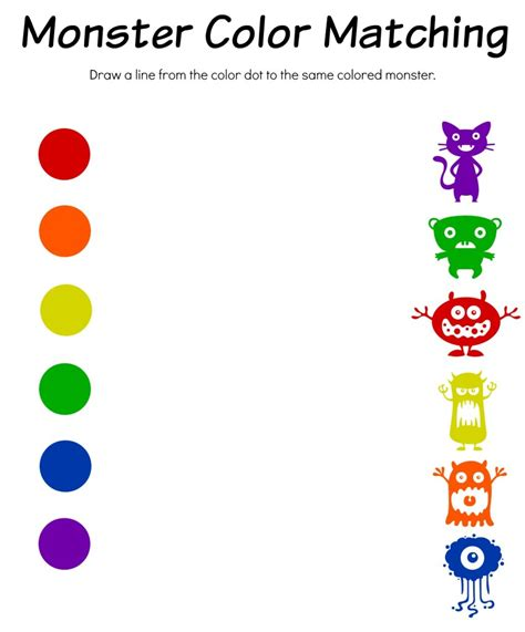 matching color schemes matching colors collection of color matching worksheets