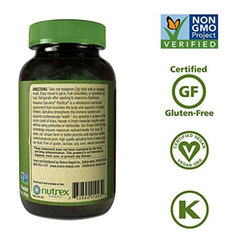 Spirulina Plus Tablet Asli 100 Original Green World Prod Berkualitas 1 hawaiian spirulina powder 5 oz boosts energy and supports immunity vegan non gmo