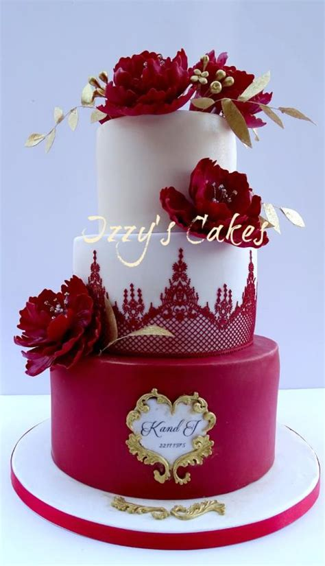 Ruby Wedding Cakes by Ruby Wedding Anniversary Cake Cake By Isabelle S Cake