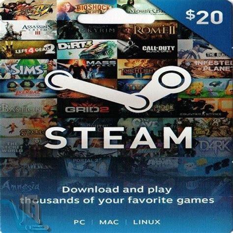20 Steam Gift Card - خرید اوریجینال steam gift card 20