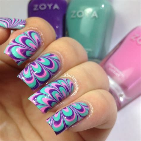 tutorial nail art water water marble nails and ideas nail art and tattoo design
