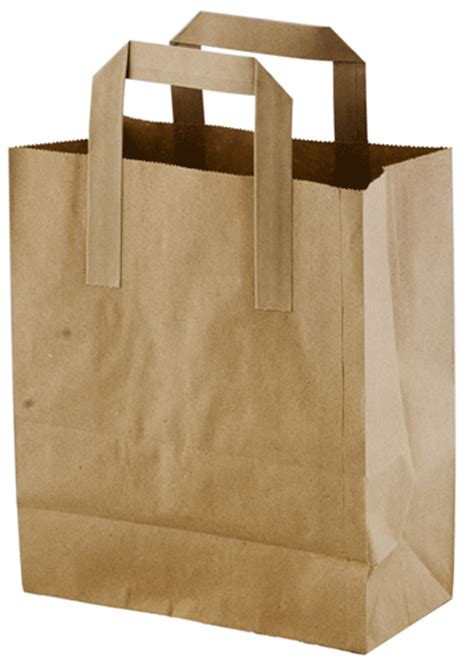 A Paper Bag - couturella plastic paper bag