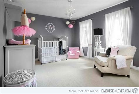Gray And Pink Bedroom Ideas - 15 sweet baby bedroom designs for your princess home design lover