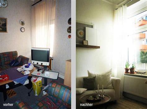 wohnzimmer vorher nachher vorher nachher