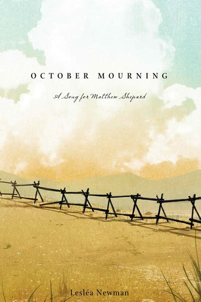 Pdf October Mourning Song Matthew Shepard by Bookshelf What We Re Reading Just Another