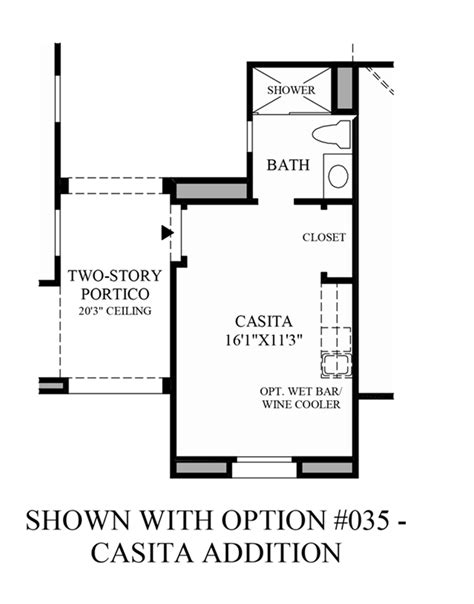 casita floor plans az casita floor plans az del webb sun city grand casita