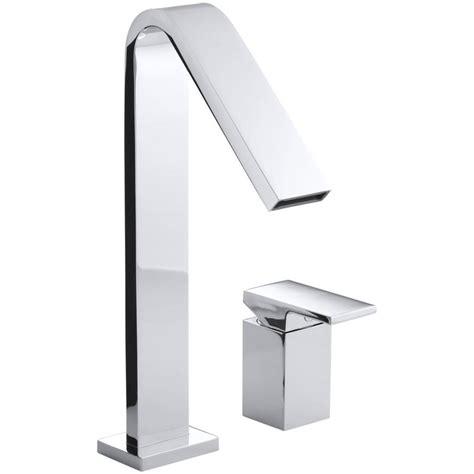 Shop Kohler Loure Polished Chrome 1 Handle Single Hole 4 Kohler Single Handle Bathroom Faucet