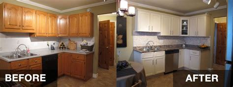 reface kitchen cabinets before and after hac0 home