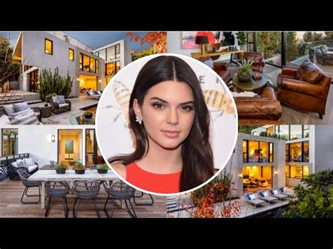 kendall jenner new house kendall jenner s house tour 2017 hollywood hill 6 5 million mansion youtube