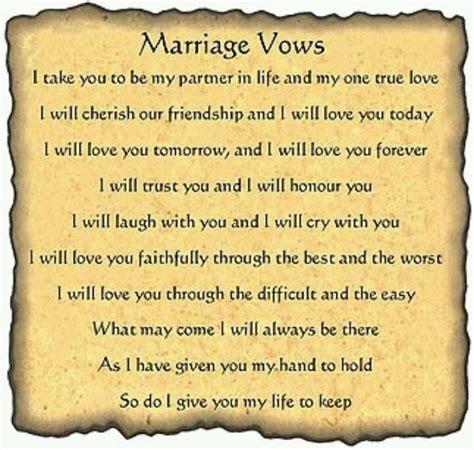 8 best Wedding Vows images on Pinterest   Wedding ideas
