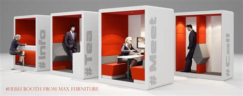 Shhh the hush booth is here think furniture