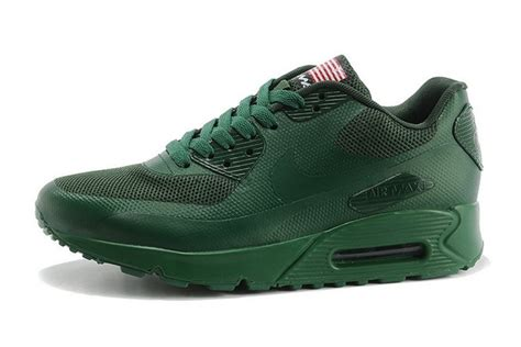 Nike Airmax Usa 7 best quality nike air max 90 hyperfuse usa s running shoes army green 613841 880 cheap