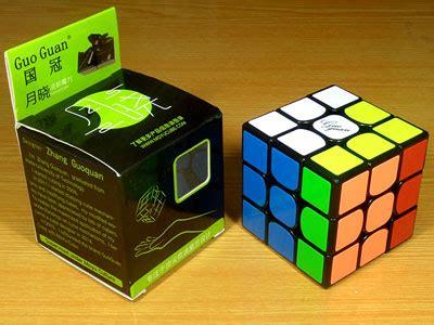 Rubik 3x3 Moyu Guoguan Yuexiao Speed Cube Primary Edition guoguan yuexiao black white stickerless primary