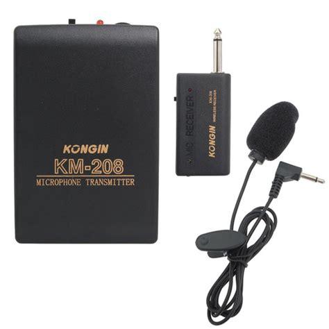 Mic Wireless Klip On wireless clip on mic mini microphone transmitter headset