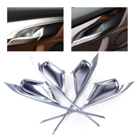 Smile List Chrome Nokia 6 New Silver silver chrome plated interior door handle bowl cover trim fit bmw x5 f15 x6 f16 ebay