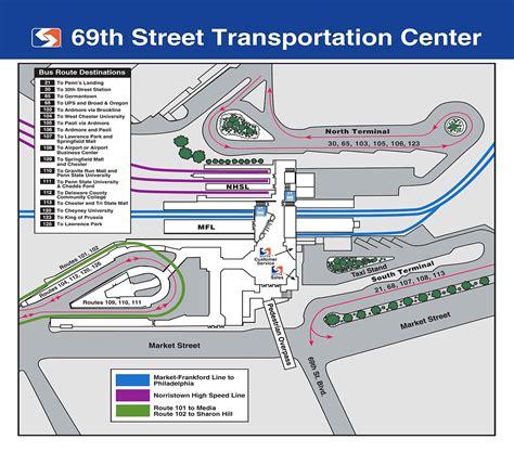 Septa Sales Office by 69th Transportation Center