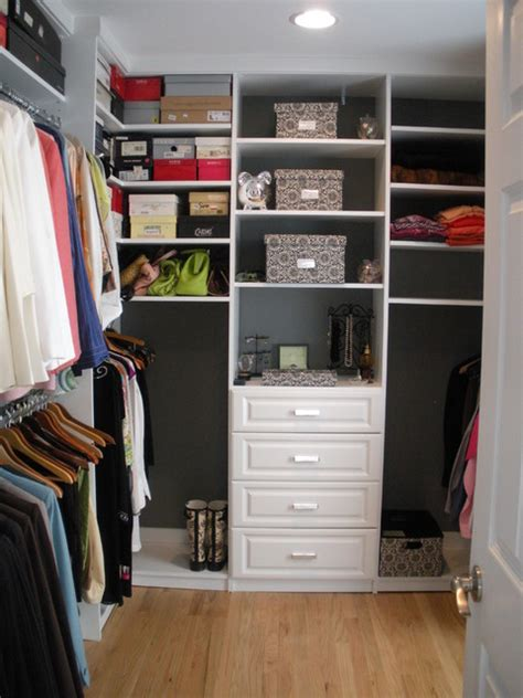 Metropolitan Closets by Classic White Walk In Closet Traditional Closet