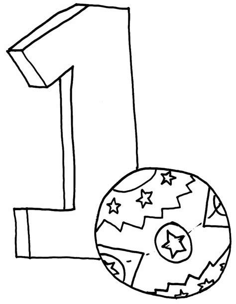 imagenes para colorear numeros dibujo colorear 1 dibujo de letras y numeros para imprimir