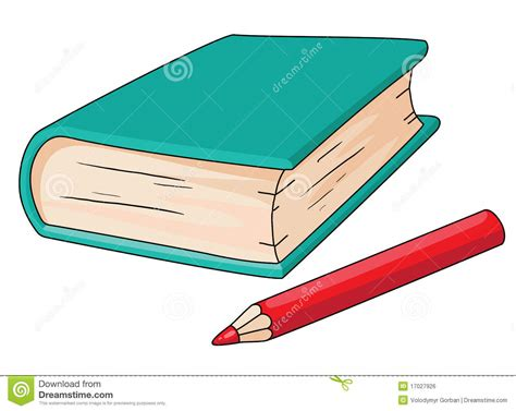pictures of books and pencils book and pencil royalty free stock image image 17027926