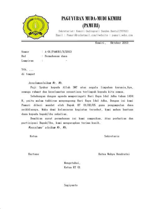 contoh surat permohonan ratnawahyu