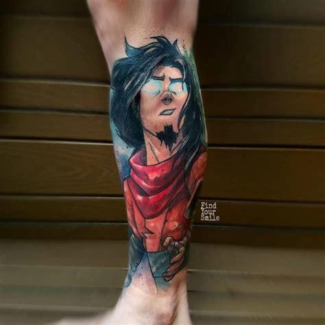 avatar wan tattoo  leg  tattoo ideas gallery