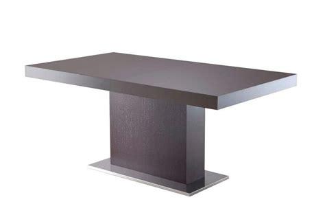 tavolo con piede centrale tavolo allungabile rettangolare titano di eurosedia