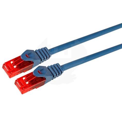 Kabel Lan 100 Meter cat6 utp kabel 25 meter 100 koper lszh blauw