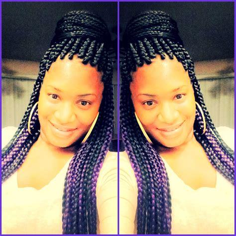 1000 ideas about purple box braids on pinterest box purple box braids arin pinterest purple box braids