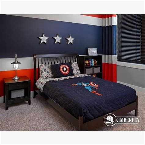 captain america bedroom ideas 1000 ideas about marvel room on pinterest round side