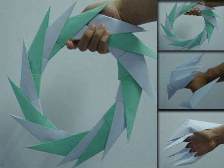 How Do You Make A Paper Claw - how to make paper claws and circle all