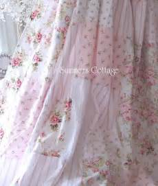 chic ruffles drape set baby pink ruffled curtain drapes shabby chic bath and cottages