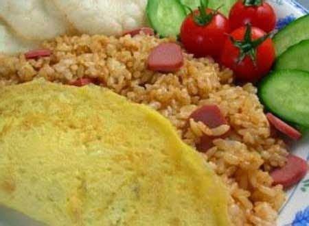 membuat nasi goreng putih resep cara membuat nasi goreng sosis spesial enak resep
