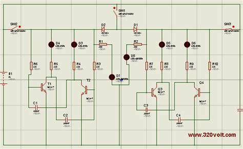 Lu Led Flip Flop a design classic transistor flip flop circuit simulation