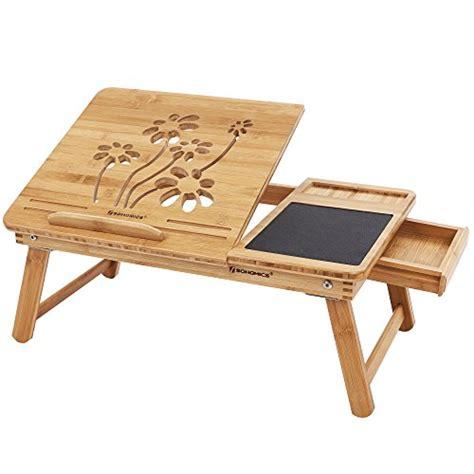 songmics bamboo laptop desk ultimum vitae