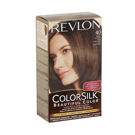 Revlon Cat Rambut jual revlon colorsilk beautiful 40 cat rambut medium ash