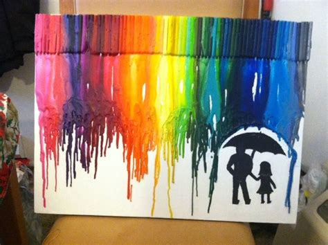 last years christmas present for my dad hotcrayon art