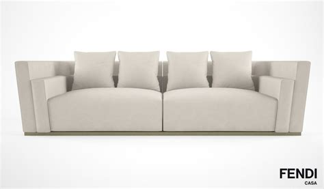 Fendi Casa Borromini Sofa 3d Model Max Obj Fbx