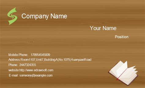 Template For A Businness Card For A Software Developer by Unique Business Card Templates